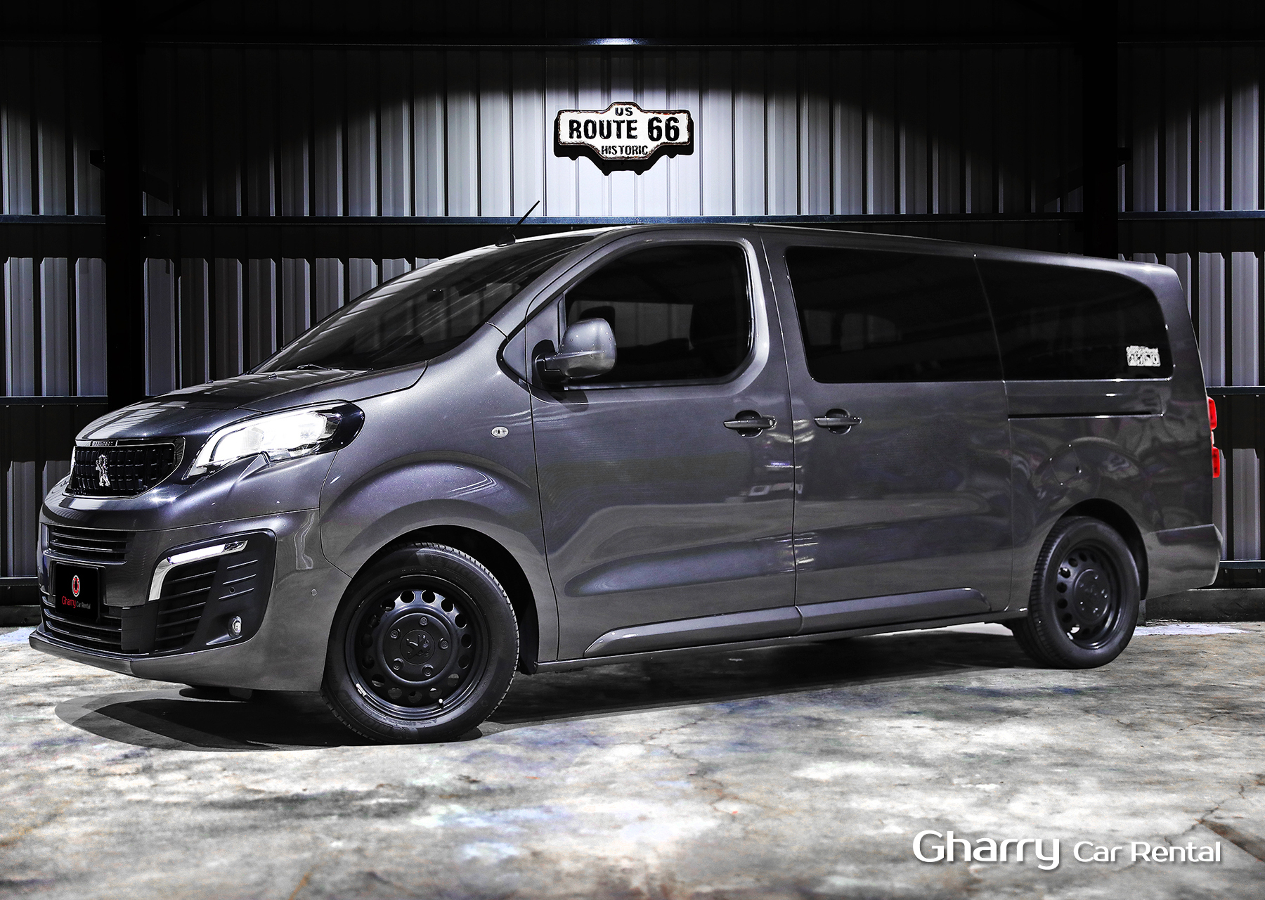 Gharry car PEUGEOY TRAVELLER