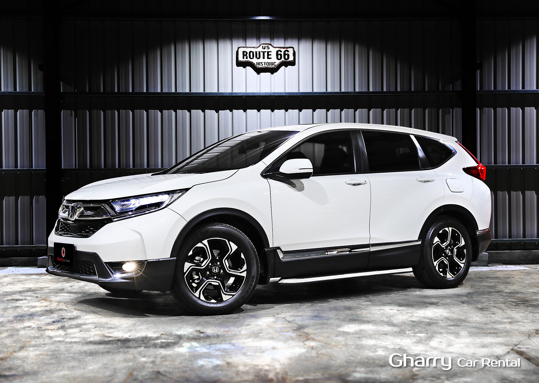 Gharry car HONDA CRV